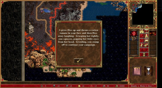 There is much evil here. Source: Heroes of Might & Magic 3