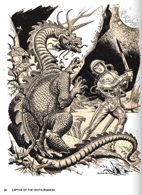 Asimov's adventure dragon